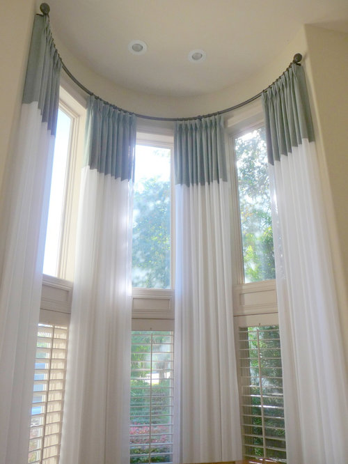 Tall Window Treatments Home Design Ideas Pictures
