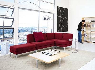 Modern Living Room Design Within Reach