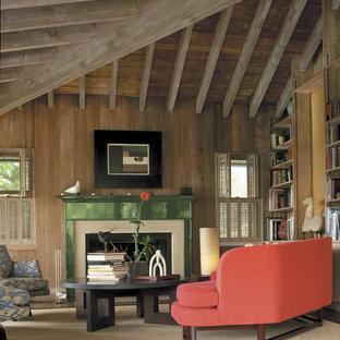 Rustic Cabin Interior | Houzz