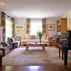 Traditional Living Room by Laurie S Woods, ASID