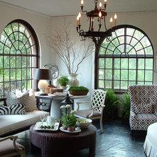 Contemporary Living Room by Jon Blunt, ASID at Luken Interiors