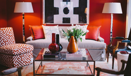 6 Ways to Inject Rich Autumn Red Into Your Living Room