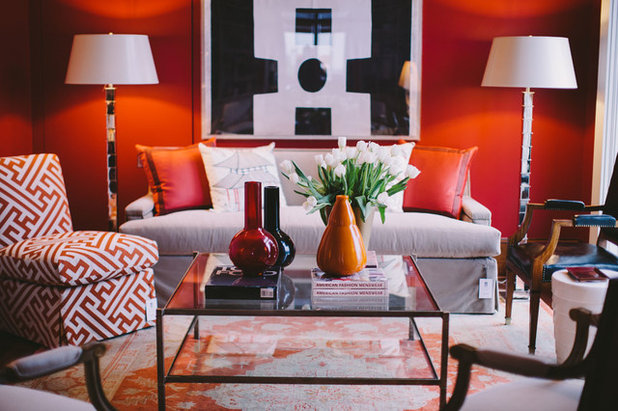 6 Ways To Inject Rich Autumn Red Into Your Living Room Part 88