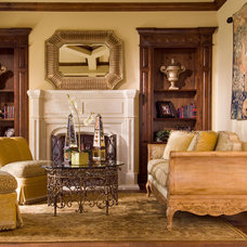 traditional living room by Wesley-Wayne Interiors, LLC