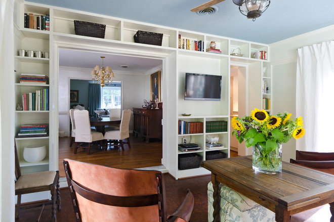 Traditional Living Room by DesignLine Home Transformations