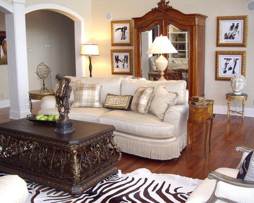 Zebra print rug living room design ideas pictures for Living room ideas with zebra rug