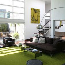 Modern Living Room by Bondanelli Design Group, Inc.
