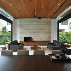 Contemporary Living Room by Architology