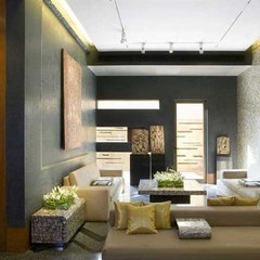 living room by devrai design