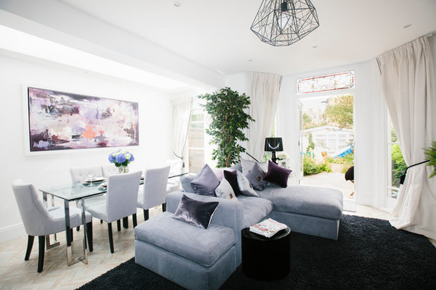Contemporary Living Room by My Bespoke Room
