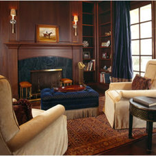 Traditional Living Room by Einstein Design Group