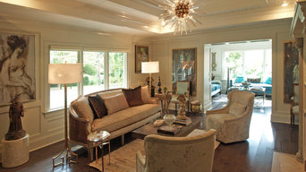 Dignified Duplex: Formal Living Room