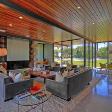 Modern Living Room by Premier Home Staging and Interiors, LLC