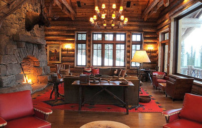 Houzz Tour: Artisanal Excellence in a Gracious Montana Ski Lodge