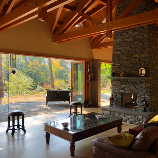 75 Beautiful Rustic Living Room Pictures & Ideas   Houzz