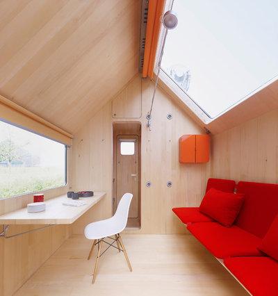 Minimalistisch Wohnbereich by Vitra