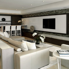 modern living room by Trend Design + Build
