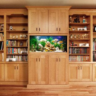 Direct Depot | Aquarium Bookcase