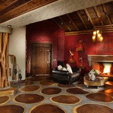 Eclectic Living Room diseño interior