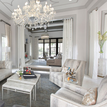 Disney Inspired Transitional  Eclectic Home