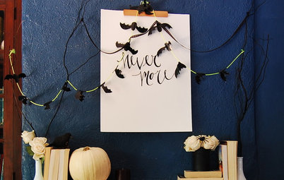 Easy Halloween Decorations From Stuff You Already Have