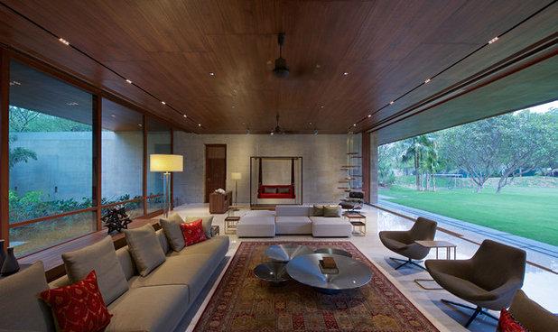 Contemporary Living Room by SPASM
