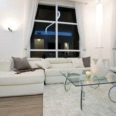 Contemporary Living Room by DKOR Interiors Inc.- Interior Designers Miami, FL