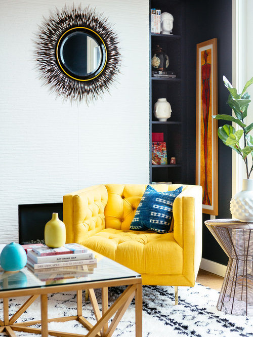 Our 11 Best Living Room with a Corner Fireplace and Blue Walls Ideas ...