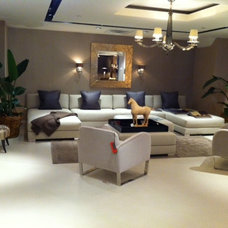 Contemporary Living Room by Donghia Washington D.C.
