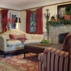traditional living room by Donna DuFresne Interior Design