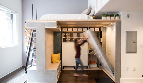 Houzz TV: You Won't Believe What This Tiny California Loft Can Do