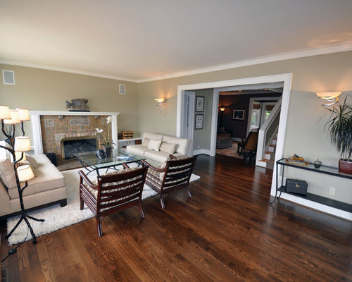 Dark Brown Hardwood Floors Living Room