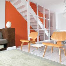 Living Room by Wiebenson & Dorman Architects PC