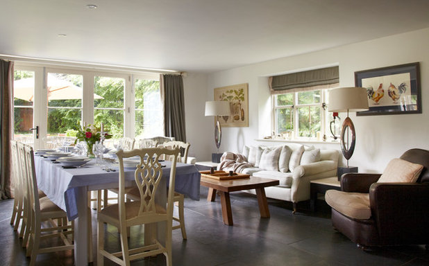 Houzz Tour A Country Cottage Merges Traditional And