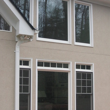 Double-hing and fixed windows - exterior
