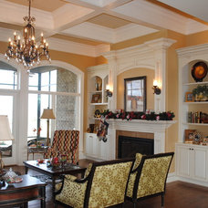 Traditional Living Room by CHC Woodworks