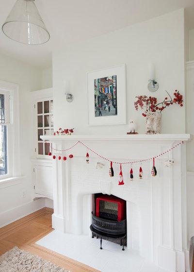 Traditional Living Room by Sophie Burke Design
