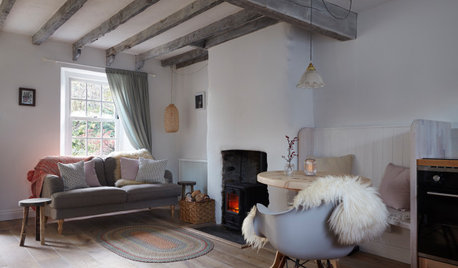 Houzz Tour: A Tiny Rural Cottage Gets a Cosy, Sustainable Update