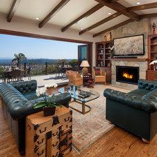 Asian Living Room by Jack 'N Tool Box, Inc.