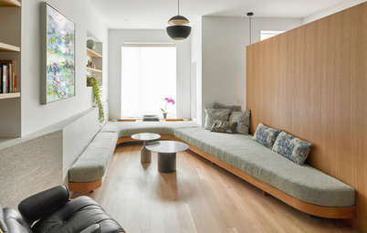 Lounge in Style: 8 Built-In Sofa Ideas