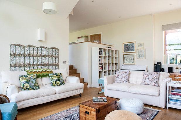 Modern Living Room by Jenny Branson - Design for Living