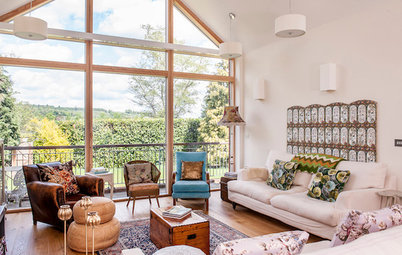 Houzz Tour: Vintage Pieces Jazz Up a New Home