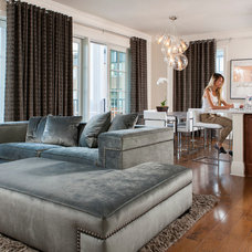 Contemporary Living Room by Andrew Sherman Photography