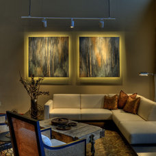 Contemporary Living Room by Interior Trends Inc. Design & Remodeling