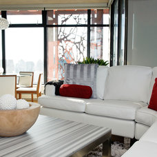 Modern Living Room by The Spotted Frog Designs