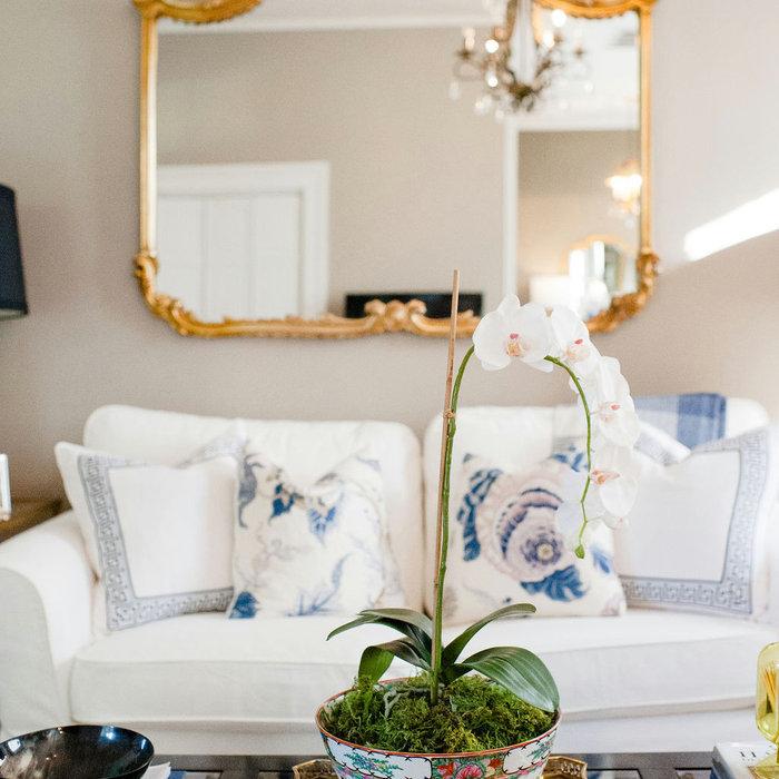 Laura Boyd Interior Design | South of Broad Charleston Living Room
