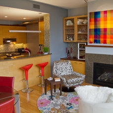 Eclectic Living Room by DC Interiors & Renovations