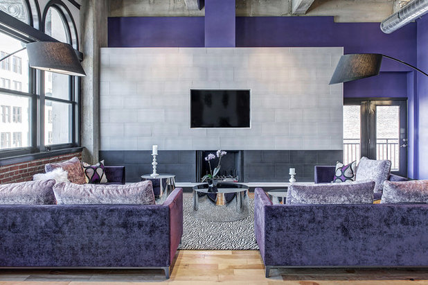 Modern Wohnbereich by S&K Interiors and Home Staging