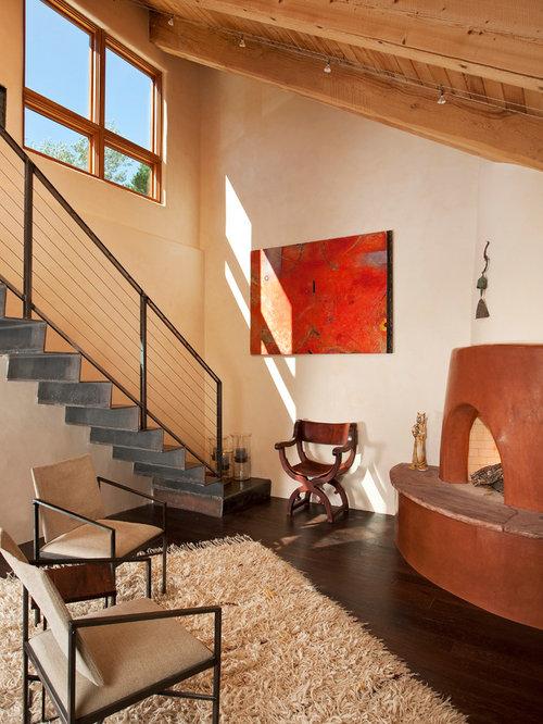 Southwestern albuquerque living room design ideas for Southwestern living room designs