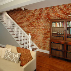 Traditional Living Room by Merrick Design and Build Inc.
